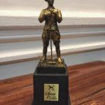 British Polo Player Statuette